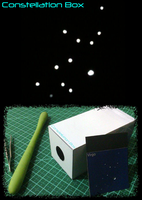 Constellation Box Papercraft by Shinaig