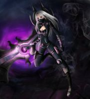 nightblade irelia by Nindei
