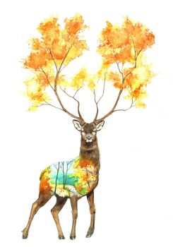 The king of autumn by KaritaArt