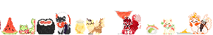 CE// Sushi Dog Icons by Superhglg