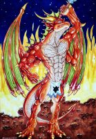 The Red Dragon by Kassanovas