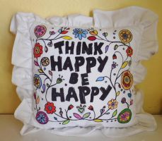 Think Happy, Be Happy by kampfly