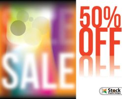 Sale Poster Vector by Stockgraphicdesigns