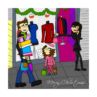 Buying Christmas Stuff by Leneeh