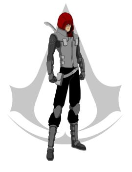 Red Hood x A. Creed Crossover by Jarein