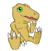 Agumon by Axcelaw