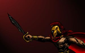 The Spartan II by draconisslayer