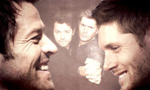 SMILE! Destiel Moment by mrsVSnape