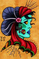 Undead Gypsy Queen by Vicki-Death