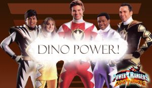 Dino Thunder Wallpaper by scottasl