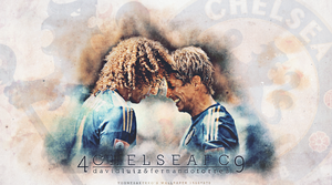 David Luiz and Fernando Torres by YuppoGFX