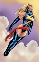 Ms. Marvel by NimeshMorarji