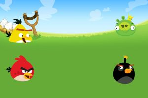 Angry Birds Background by nikitabirds