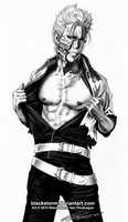 GRIMMJOW --Too hot (hot damn)-- by blackstorm