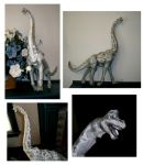 Brachiosaurus Papercraft by chalicothere