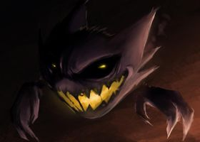 Haunter by conceptfox