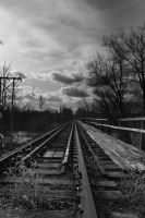 Train Tracks by froggynaan