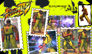 Sean - Ryu Mod for SF IV by IceBreakker