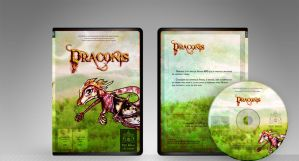 DVD Cover Draconis by Iara-chan