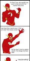 Young Justice Abridged: Flash by RamblinQuixotic