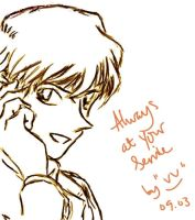 Another Hakuba Sketch by vv-amarantine