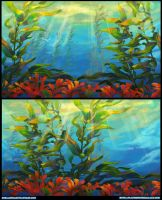 Kelp Forest by Derlaine8
