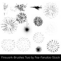 Firework-Brushes Two by Fea-Fanuilos-Stock