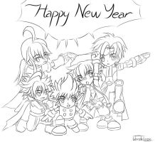 Happy New Year by VerdeLeon