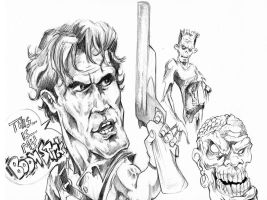 Boomstick Sketch Dump By DW Miller by ConceptsByMiller