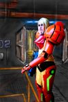 Samus background paint by Walter-NEST