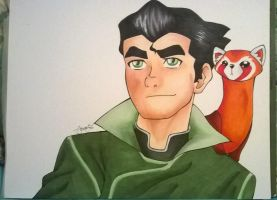 More official Bolin + Pabu by Lauren-the-Lyon