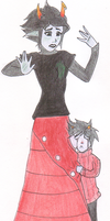 Kanaya: What's Wrong? by GriffinInk