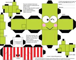 keroppi cubicraft by Changhl