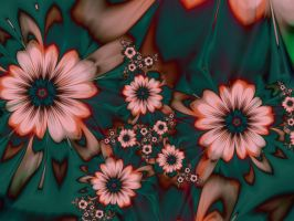 Floral Print by janinesmith54