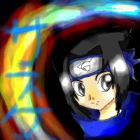 ::Sasuke - Rainbow in the Dark by sarathehedgehog