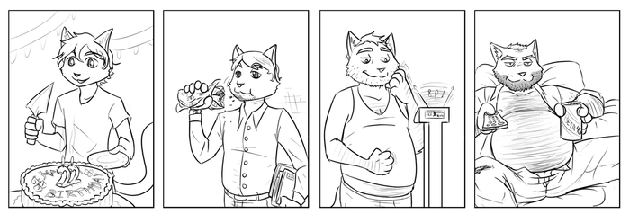 Circ Commission-Age Progression Sequence by Fighting-Wolf-Fist