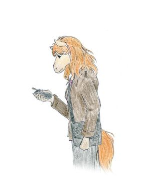Donna Noble Anthro by LittleSnaketail