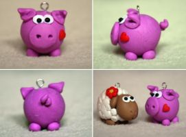 :: little piggy :: by Flowerinka