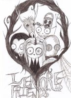 Lenore and Friends by YourLovelyDeath