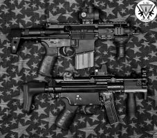 A little  PDW action --- Black and White---- by pringle753
