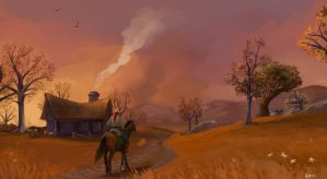 Home in Westfall by Brissinge
