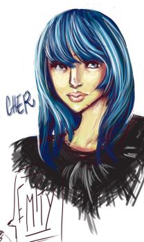 Cher by Puuk