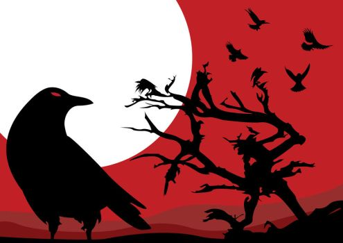 Murder of Crows by Drakarn91