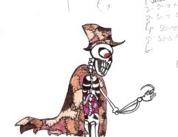 Random Drawing- Skin Taker from Candle Cove by Daniel-SG