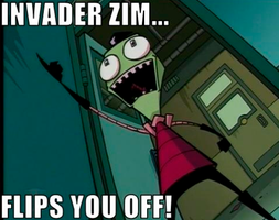 Invader Zim... by tallestlizz3421