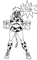 Crazy Cow Waitress by CrazyCowProductions