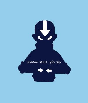 Aang- Avatar State by shahuskies