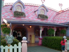 MK Minnie's House 2 by AreteStock