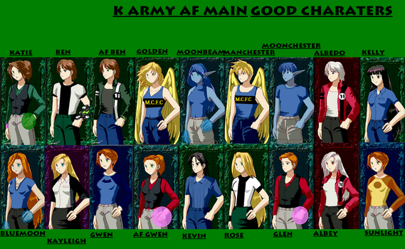 main charaters good by KatieFilmwitch