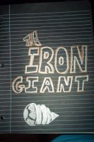 The Iron Giant With Sharpies by Daylighter123